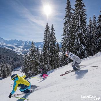 MASQUE DE SKI ET DE SNOWBOARD HOMME BONES 500 BEAU TEMPS GRIS-18 - 1042220