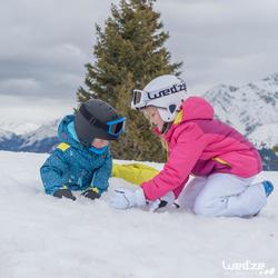 Jongens skibroek Firstheat donkergrijs - 1042221