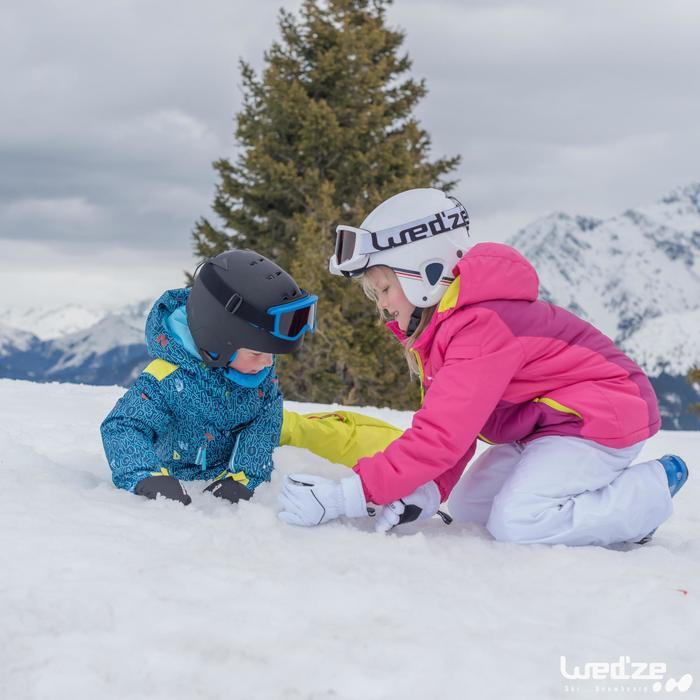 Skibril en snowboardbril voor volwassenen en kinderen G 140 zonnig weer wit