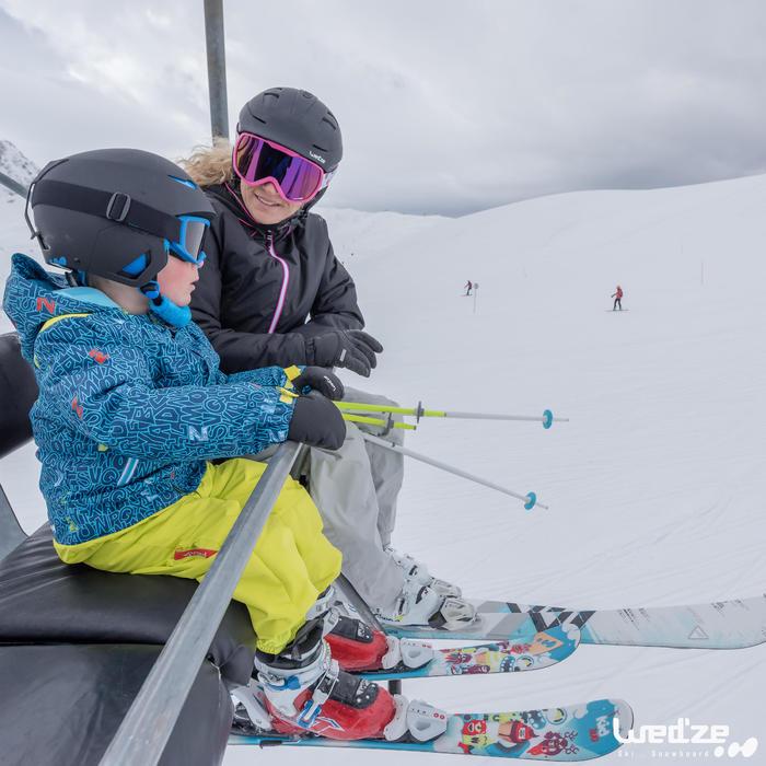 Veste ski femme First Heat noire - 1042223
