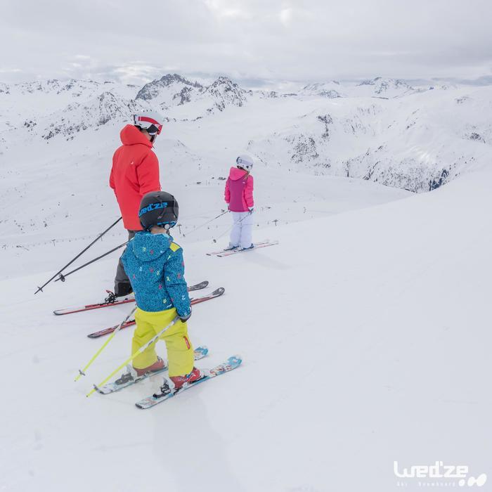 Skihandschoenen voor kinderen Slide 100 zwart