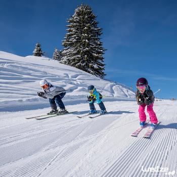 MASQUE DE SKI ET DE SNOWBOARD HOMME BONES 500 BEAU TEMPS GRIS-18 - 1042233