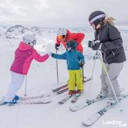 Jongens skibroek Firstheat donkergrijs - 1042234
