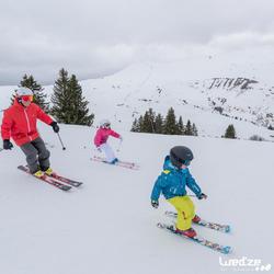 Jongens skibroek Firstheat donkergrijs - 1042237