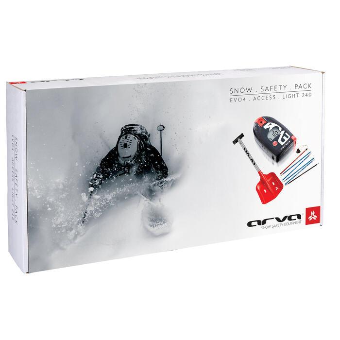Lawinepack ARVA Evo4: schep + sonde + lawinepieper Evo 4