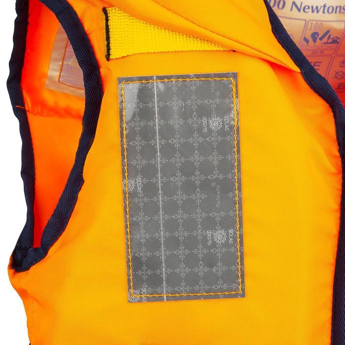 Chaleco salvavidas espuma niño Typhon 100N naranja