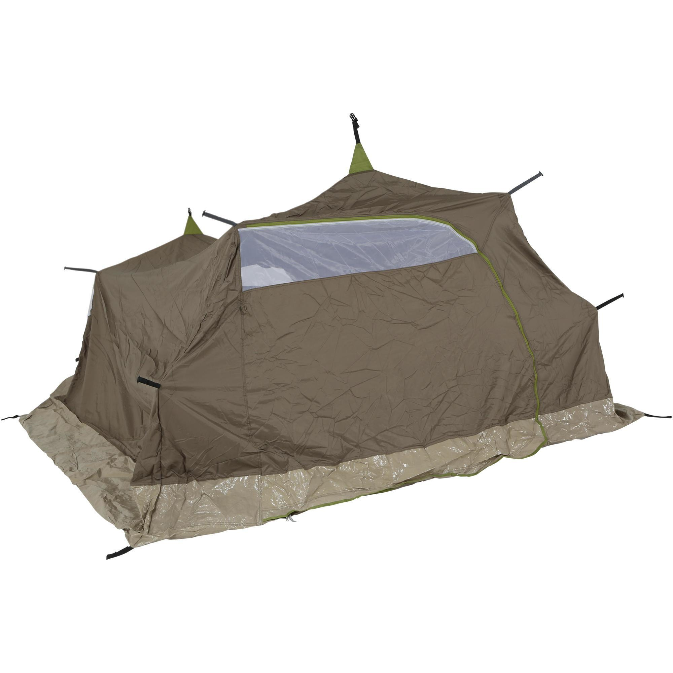 kabine zelt t4 family quechua decathlon. Black Bedroom Furniture Sets. Home Design Ideas