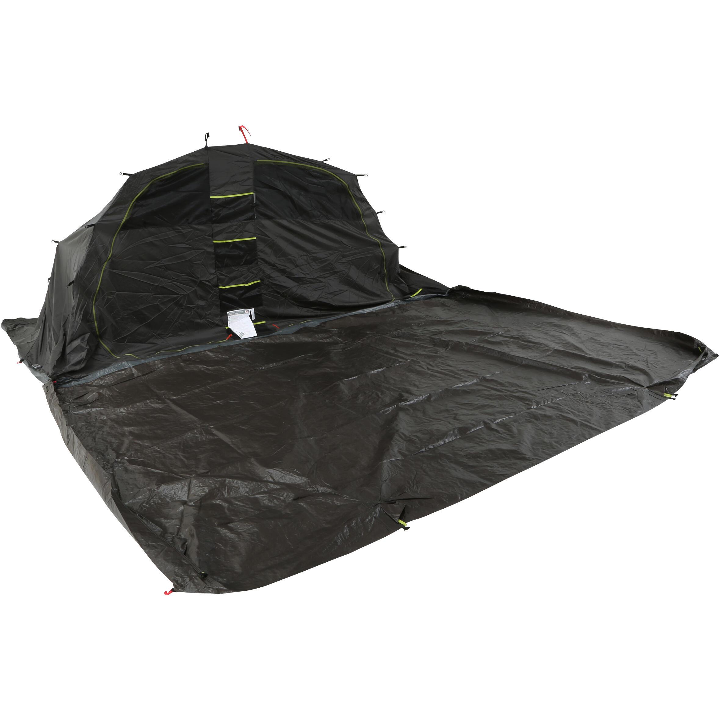 Quechua Slaapcompartiment en grondzeil voor tent Arpenaz Family 5.2 XL