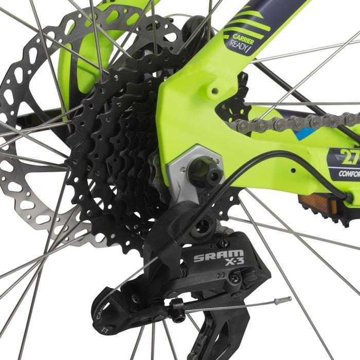 "Mountainbike MTB 27.5"" Rockrider 520 neongelb"