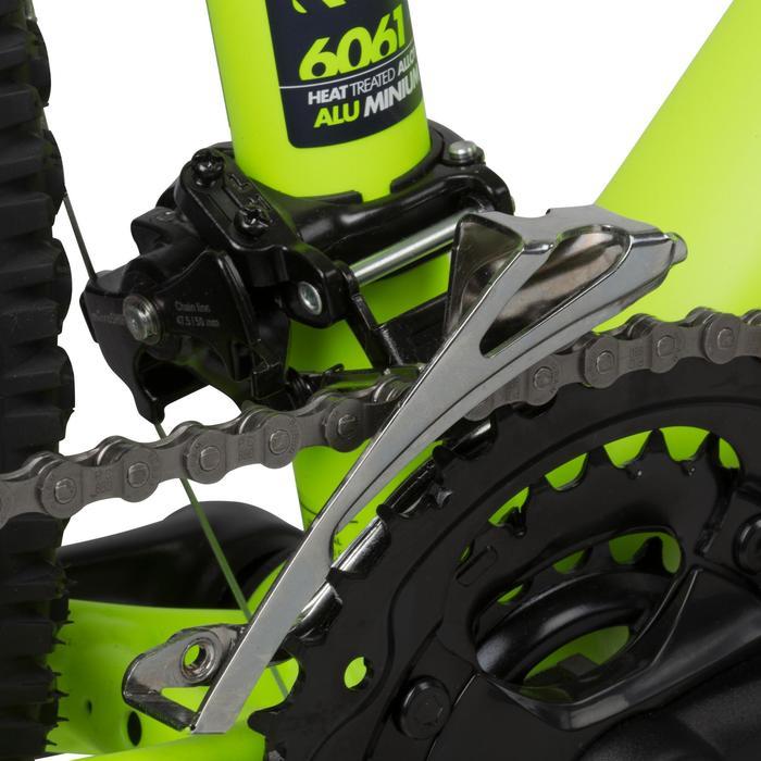 "Mountainbike 27,5"" Rockrider 520 neongelb"
