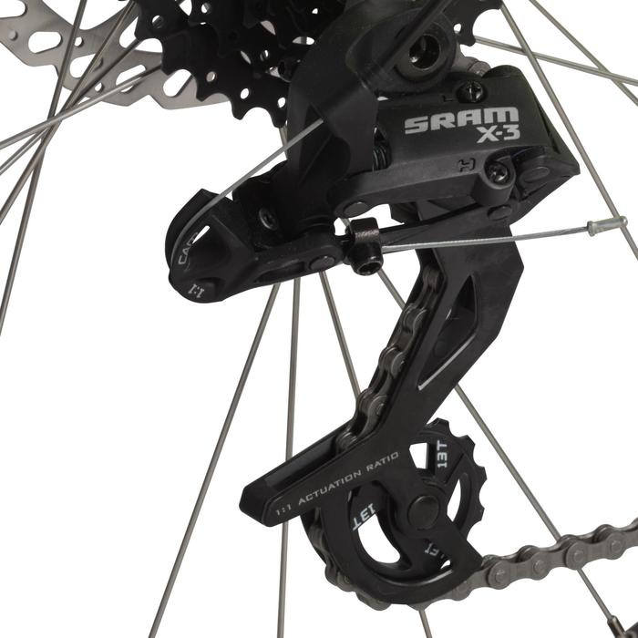"Mountainbike MTB Rockrider 520 27,5"" gelb"