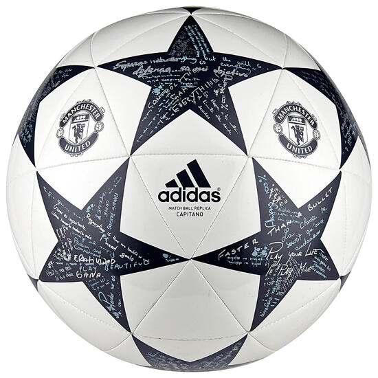 Voetbal Manchester United maat 5 wit - 1042533