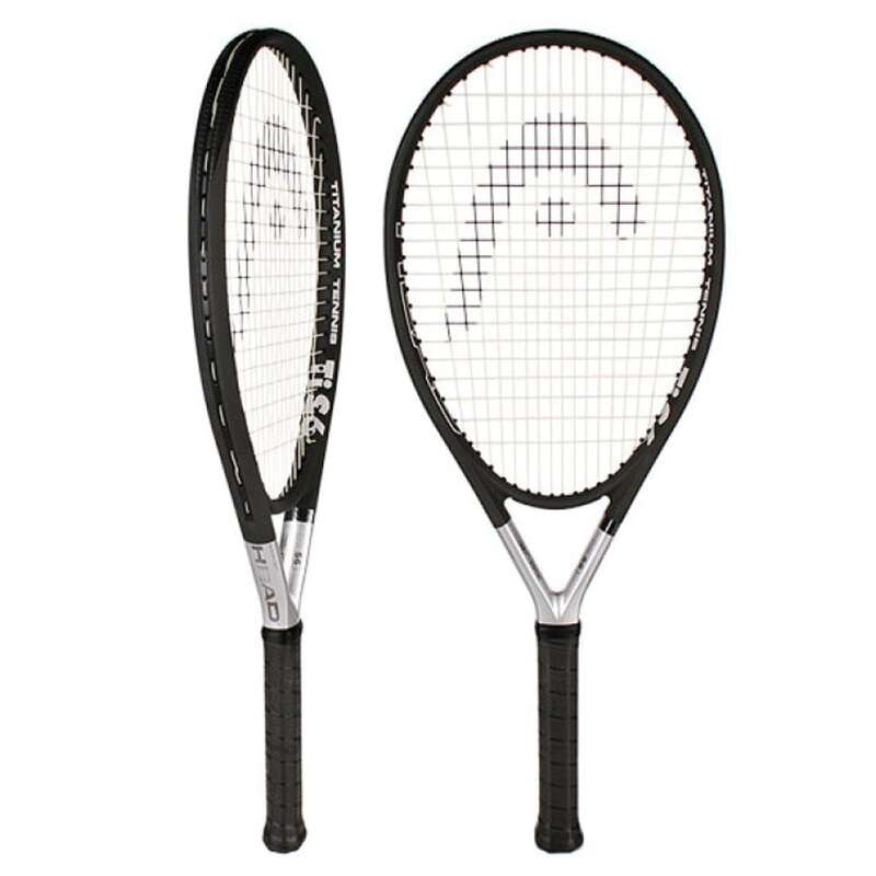 ADULT TENNIS RACKET Tennis - HEAD TI S6 TITANIUM HEAD - Tennis
