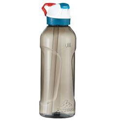 Drinkfles voor wandelingen 900 sportdop drinktuitje 0,8 l plastic (tritan) - 1042707