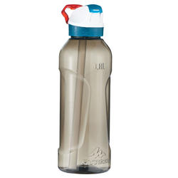 900 Hiking Bottle Instant Opening with Straw 0.8 Litres Plastic (Tritan) - Black