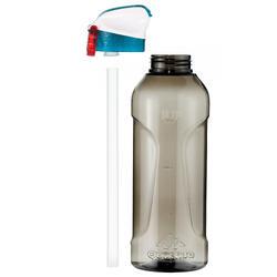 Drinkfles voor wandelingen 900 sportdop drinktuitje 0,8 l plastic (tritan) - 1042708
