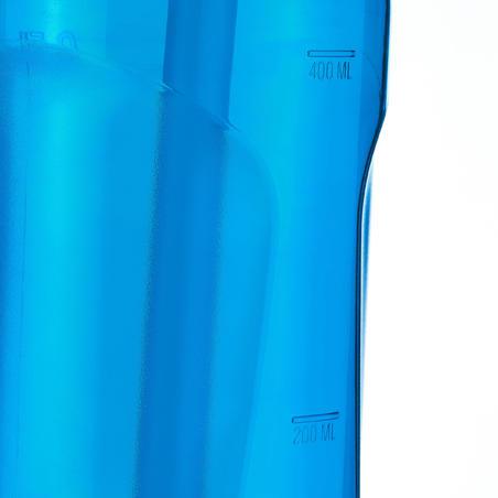 Cantimplora Botella Plástico Camping Quechua 900 Apertura Fácil 0,5 Litros Azul