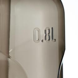 Drinkfles voor wandelingen 900 sportdop drinktuitje 0,8 l plastic (tritan) - 1042715