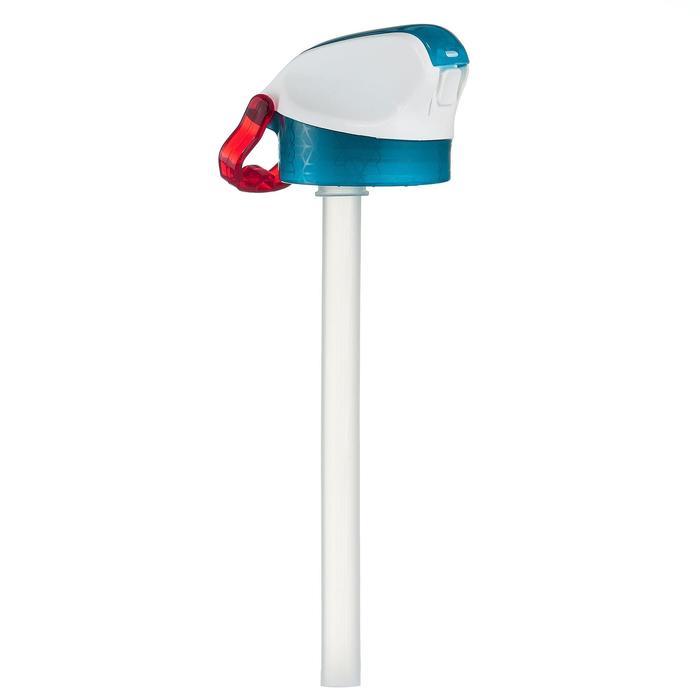 Cantimplora senderismo 900 tapón instantáneo pipeta 0,5L plástico (Tritan) azul