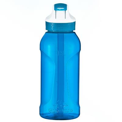 Botella de hidratación de excursionismo 0,5 L pipeta azul