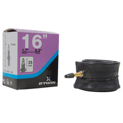 Binnenband 16 inch doorsnede 1.7 tot 2.2 Presta-ventiel - 1042766