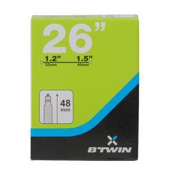 Binnenband 26x1.2/1.5 Presta-ventiel 48 mm - 1042781