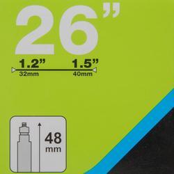 "Binnenband 26""x1/2/1.5 Presta-ventiel 48mm"