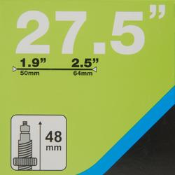 CÁMARA DE AIRE 27,5x1,9 / 2,5 VÁLVULA PRESTA 48 mm
