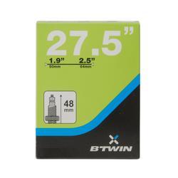 """Binnenband 27,5x1,9/2,5"""" prestaventiel 48 mm"""