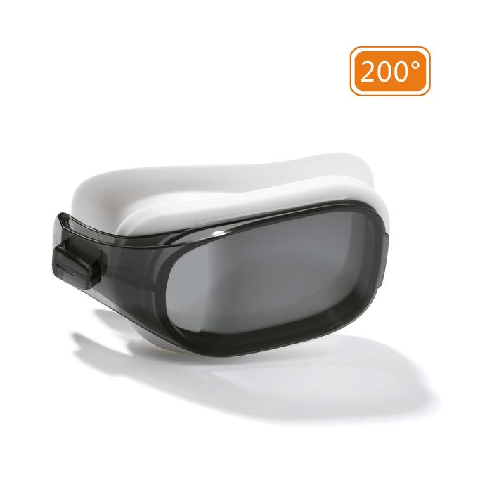 Two smoked lenses for SELFIT 500 swimming goggles Size L