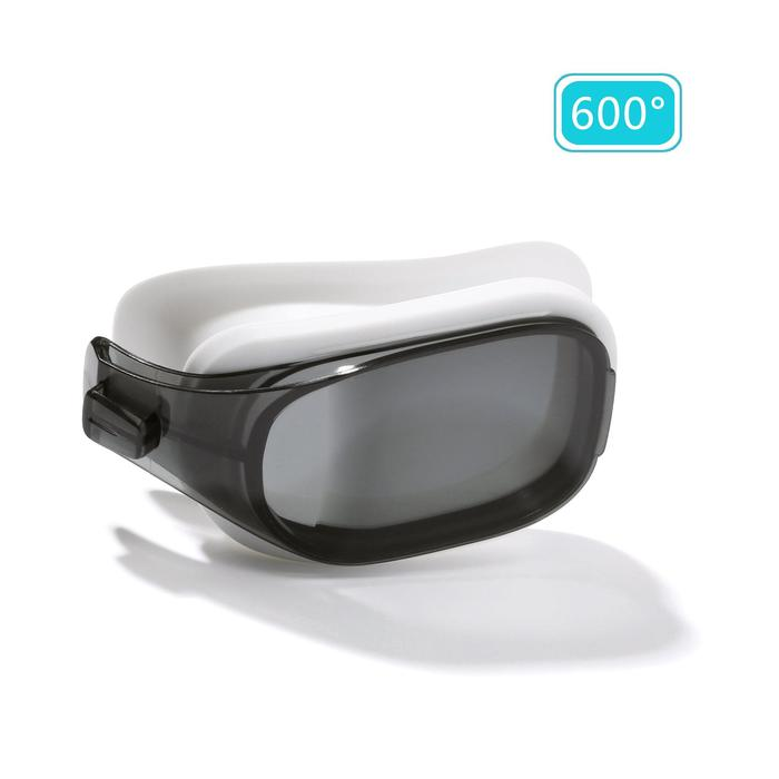 Six smoked lenses for SELFIT 500 swimming goggles Size L