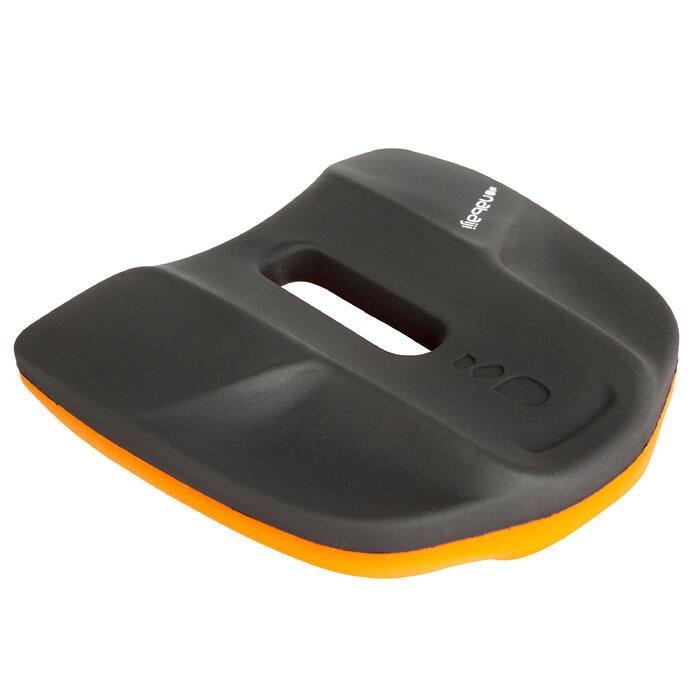 Pullkick zwemmen zwart/oranje