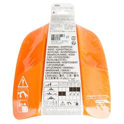 Pullkick zwemmen zwart/oranje - 1042993