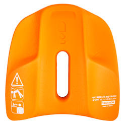 Pullkick zwemmen zwart/oranje - 1042994