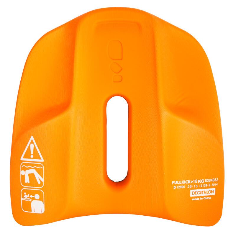 Swimming Pull Kick - Black Orange