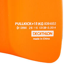Pullkick zwemmen zwart/oranje - 1042999