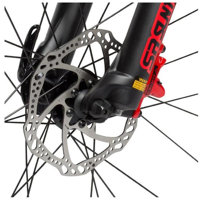 BTWIN ROCKRIDER 540 RED MTB CYCLE
