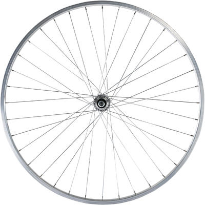 """Заднє колесо для гібридного велосипеда 28"""" - Срібне"""