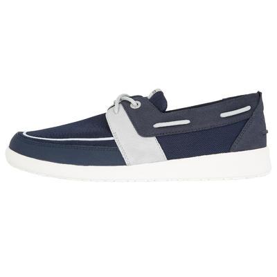 Sailing 100 Men's Boat Shoes - Navy Blue