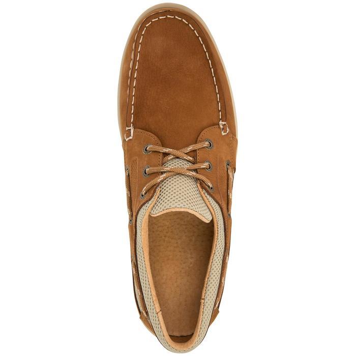 Chaussures bateau cuir homme CLIPPER - 1043407