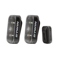 Fietsverlichting Vioo Clip 500 zwart