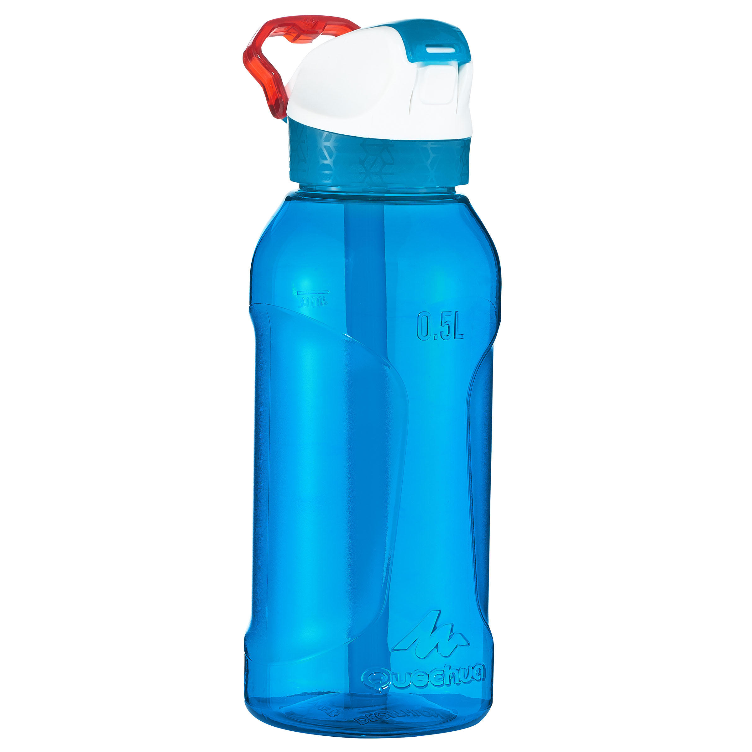 Hiking Water Bottle 900 Instant Pipette Cap 0.5L Plastic (Tritan) – Blue