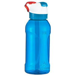 900 Hiking Flask instant opening with straw, 0.5 litre plastic (Tritan) - Blue