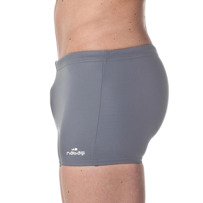 男款四角泳褲100 - 基礎灰