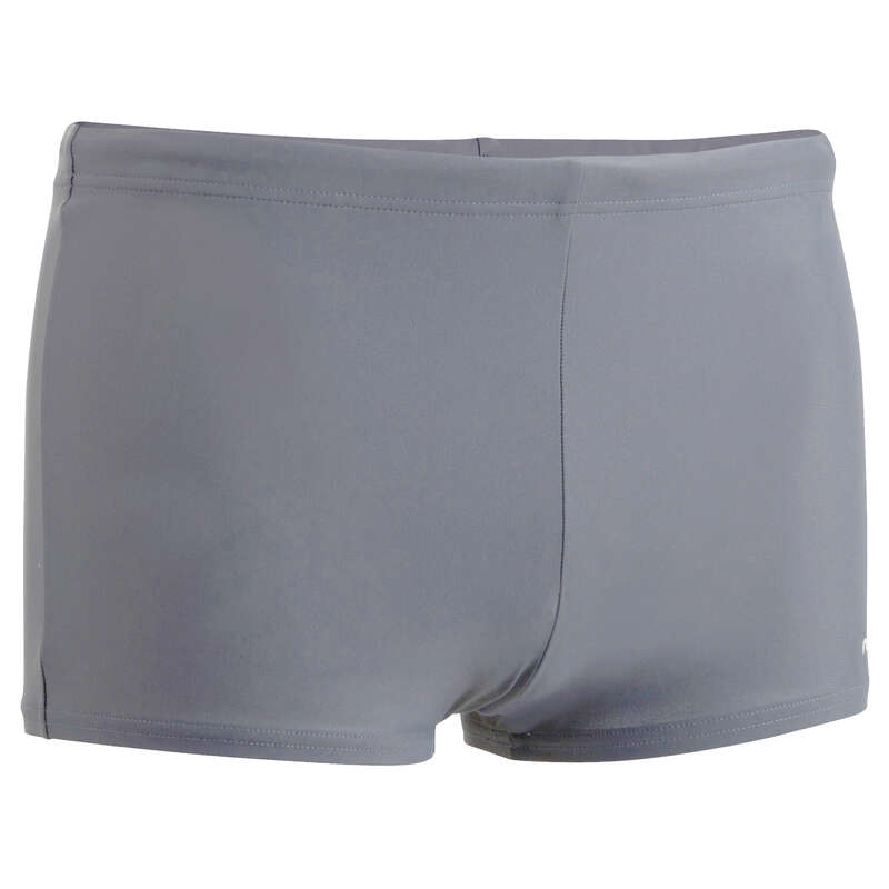 MEN'S SWIMSUITS Swimming - B-ACTIVE MENS SWIMMING BOXERS GREY NABAIJI - Swimwear