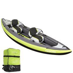 Kayak hinchable 1 o 2 plazas ITIWIT 2 verde