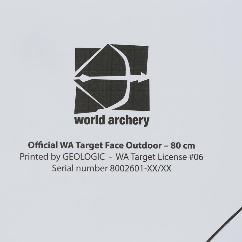 5 Archery Target Faces 80x80 cm
