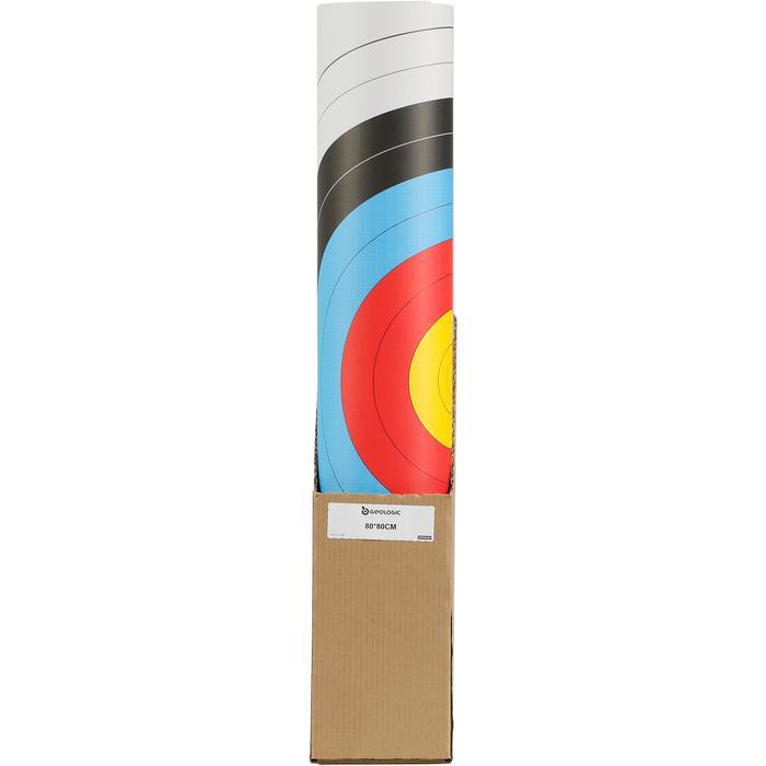 Blazoen boogschieten 80x80cm - 1043883