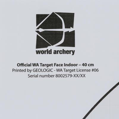 ផ្ទាំងស៊ីប ARCHERY - 40X40
