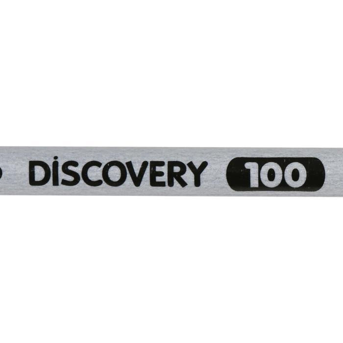 Pijl Discovery 100 voor boogschieten grijs